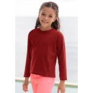 JHK TSRK150LS, Koszulka dziecięca, red