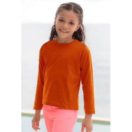 JHK TSRK150LS, Koszulka dziecięca, orange