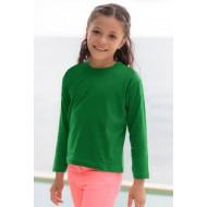 JHK TSRK150LS, Koszulka dziecięca, kelly green