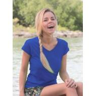 JHK TSRLPICO, Koszulka damska typu PICO, royal blue