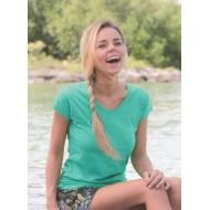 JHK TSRLPICO, Koszulka damska typu PICO, turquoise