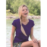 JHK TSRLPICO, Koszulka damska typu PICO, purple