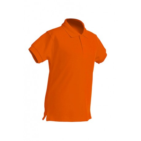 JHK PKID210, Polo dziecięce, kr. rękaw, orange