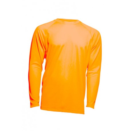 JHK SPORTMANLS, Sport Man, Koszulka męska, dł. rękaw raglan, orange fluor