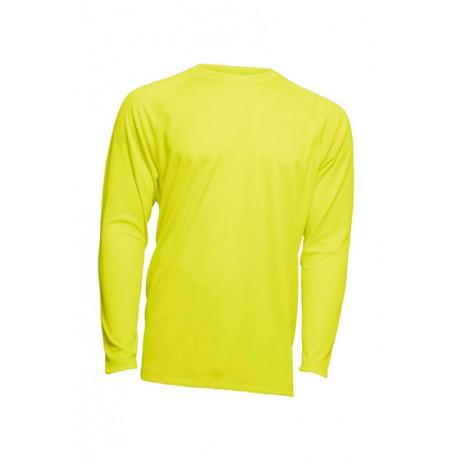 JHK SPORTMANLS, Sport Man, Koszulka męska, dł. rękaw raglan, gold fluor