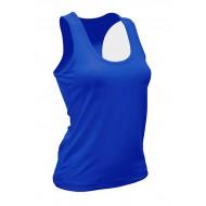 JHK SPORTARUBALADY, Sport Lady, Damski T-back, royal blue
