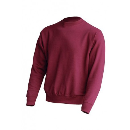 JHK SWRA290, Bluza dresowa męska, burgundy