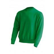 JHK SWRA290, Bluza dresowa męska, kelly green