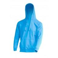 JHK SWRAKNG, Bluza dresowa z kapturem męska, sky blue