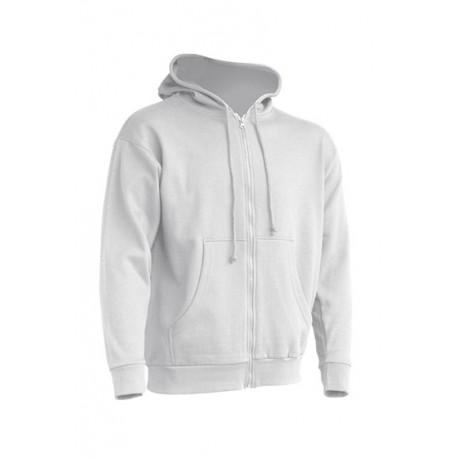 JHK SWUAHOOD, Bluza dresowa z kapturem męska, white Koszulki JHK.pl odzież marki JHK, koszulki reklamowe, tanie koszulki