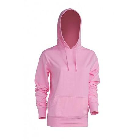 JHK SWULKNG, Bluza dresowa z kapturem damska, pink Koszulki JHK.pl odzież marki JHK, koszulki reklamowe, tanie koszulki