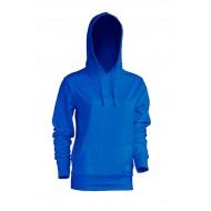 JHK SWULKNG, Bluza dresowa z kapturem damska, royal blue