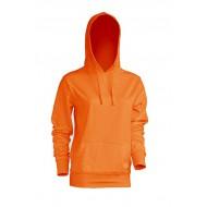 JHK SWULKNG, Bluza dresowa z kapturem damska, orange
