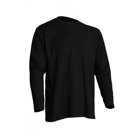 JHK TSRA150LS, Koszulka męska, dł. rękaw, black