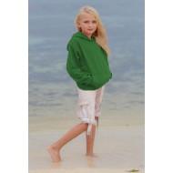 JHK SWRKKNG, Bluza dresowa z kapturem młodzieżowa, kelly green