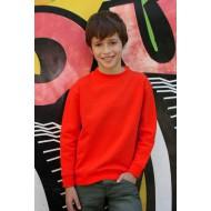 JHK SWRK290, Bluza dresowa młodzieżowa, red
