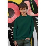 JHK SWRK290, Bluza dresowa młodzieżowa, bottle green