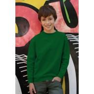 JHK SWRK290, Bluza dresowa młodzieżowa, kelly green