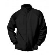 JHK FLRA330, Bluza polarowa rozpinana męska, black