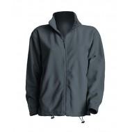 JHK FLRA300, Bluza polarowa rozpinana męska, graphite