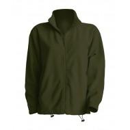 JHK FLRA300, Bluza polarowa rozpinana męska, forest green