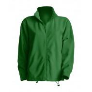 JHK FLRA300, Bluza polarowa rozpinana męska, kelly green