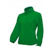 JHK FLRL300, Bluza polarowa rozpinana damska, kelly green