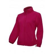 JHK FLRL300, Bluza polarowa rozpinana damska, raspberry