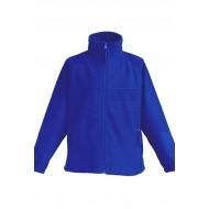 JHK FLRK300, Bluza polarowa rozpinana dziecięca, royal blue