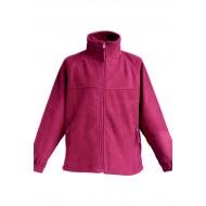 JHK FLRK300, Bluza polarowa rozpinana dziecięca, raspberry