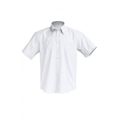 JHK SHRASSOXF, Koszula z krótkim rękawem, white