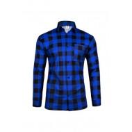 Koszula flanelowa niebieska