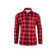 Koszula flanelowa czerwona