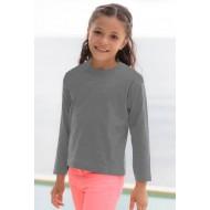 JHK TSRK150LS, Koszulka dziecięca, grey melange