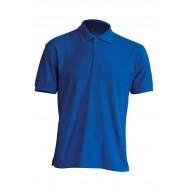 JHK OCEANPOLO, Polo męskie, kr. rękaw, royal blue