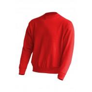 JHK SWRA290, Bluza dresowa męska, red