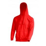 JHK SWRAKNG, Bluza dresowa z kapturem męska, red