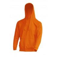 JHK SWRAKNG, Bluza dresowa z kapturem męska, orange
