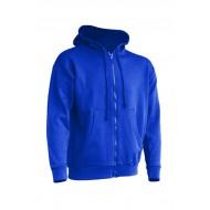 JHK SWUAHOOD, Bluza dresowa z kapturem męska, royal blue