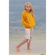 JHK SWRKKNG, Bluza dresowa z kapturem młodzieżowa, gold
