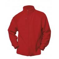 JHK FLRA330, Bluza polarowa rozpinana męska, red