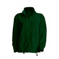 JHK FLRA300, Bluza polarowa rozpinana męska, bottle green