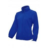 JHK FLRL300, Bluza polarowa rozpinana damska, royal blue