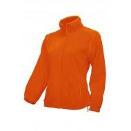 JHK FLRL300, Bluza polarowa rozpinana damska, orange