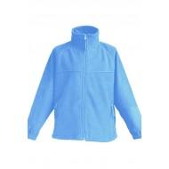 JHK FLRK300, Bluza polarowa rozpinana dziecięca, sky blue