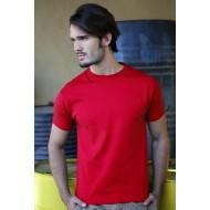 JHK TSUA150, Koszulka męska typu SLIM, red